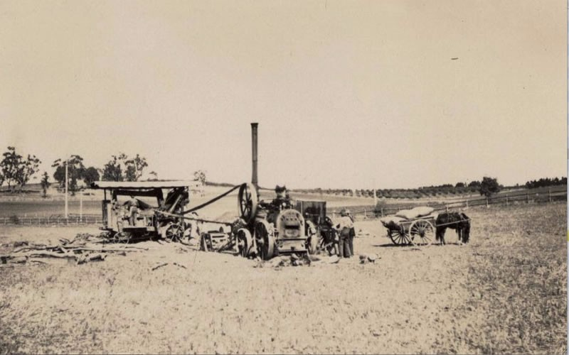 Slider Image 2_Steam Threshing at Orange