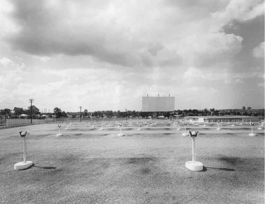 Skyline Drive-In at Bass Hill, 1957 [Bankstown City Library Photograph Collection]