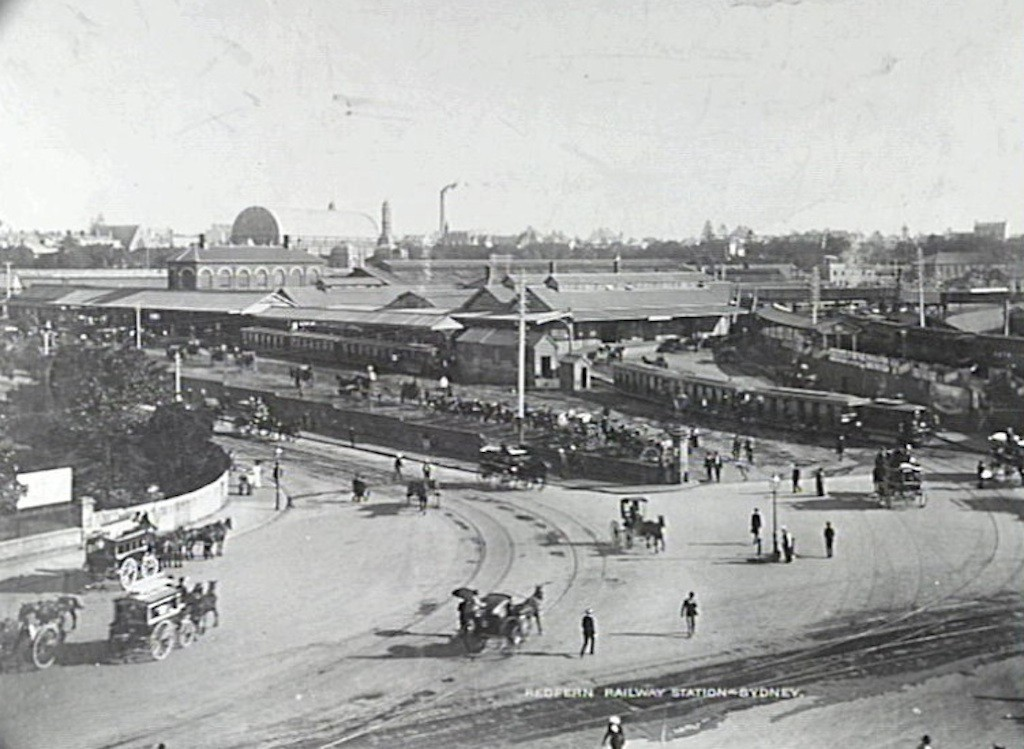 8 Redfern Railway Station 1894 RAHS