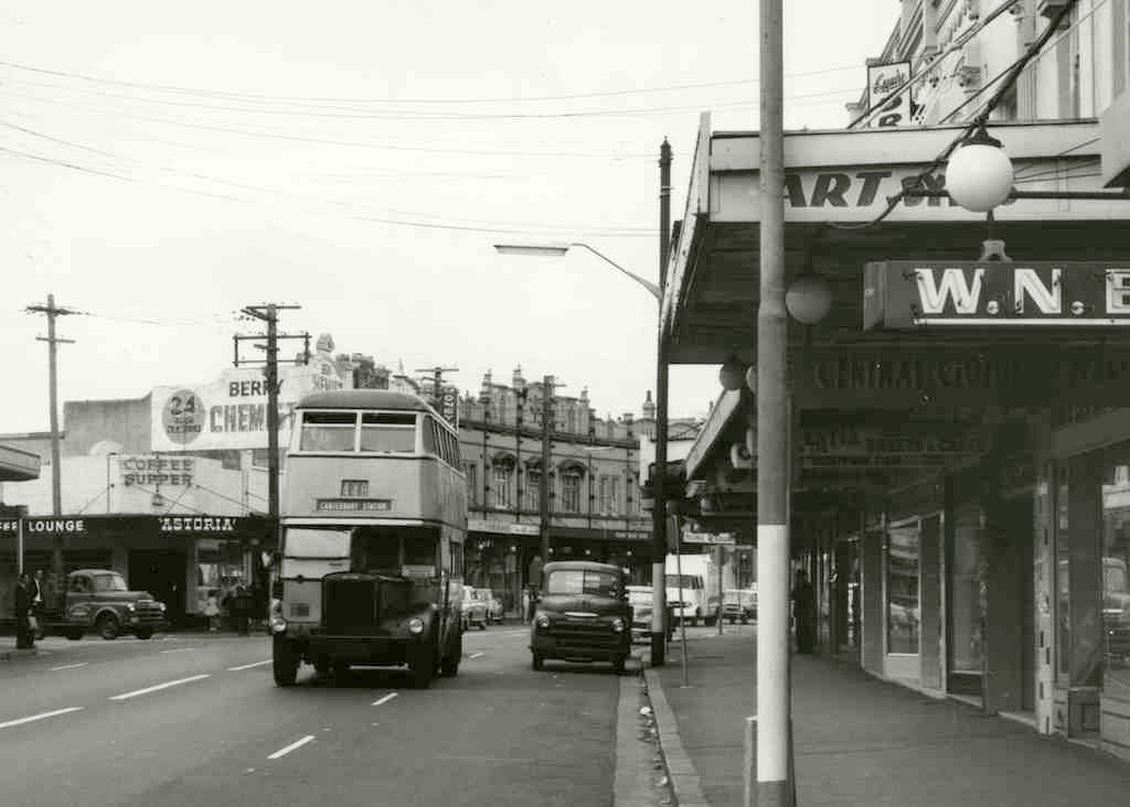 BUSES-Leyland Double-Decker King St.Newtown-c1960 RAHS