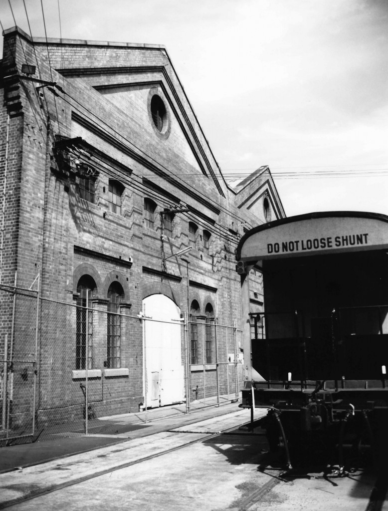 Eveleigh Locomotive Workshop 1990 2