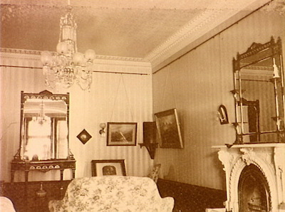 Canterbury House Canterbury NSW - Drawing room - Bequest from John Hay Goodlet to Presbyterian Church 1927 [RAHS Photograph Collection]