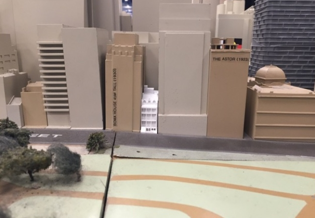 History House Project Model Image   Town Hall