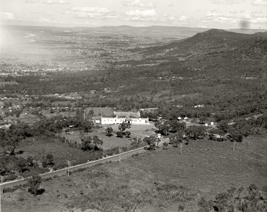 Panorama House, Bulli Tops looking south from Sublime Point, 1936 RAHS [RAHS Photograph Collection] copy