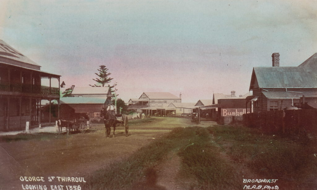 George St Thirroul, undated [RAHS Photograph Collection]