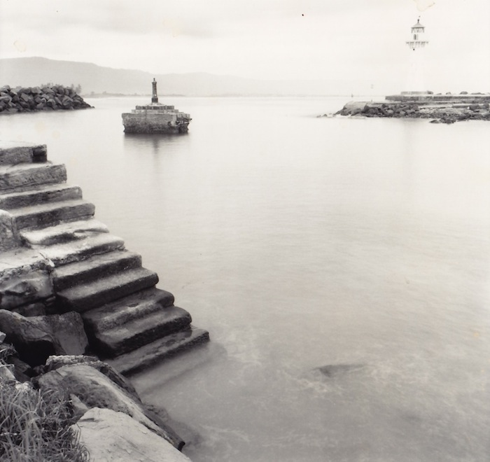 Wollongong Harbour stairs undated  [RAHS Photograph Collection] copy