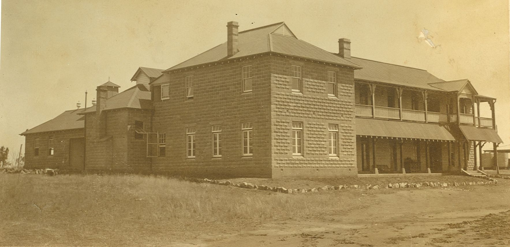 Research Station Quarters 1915