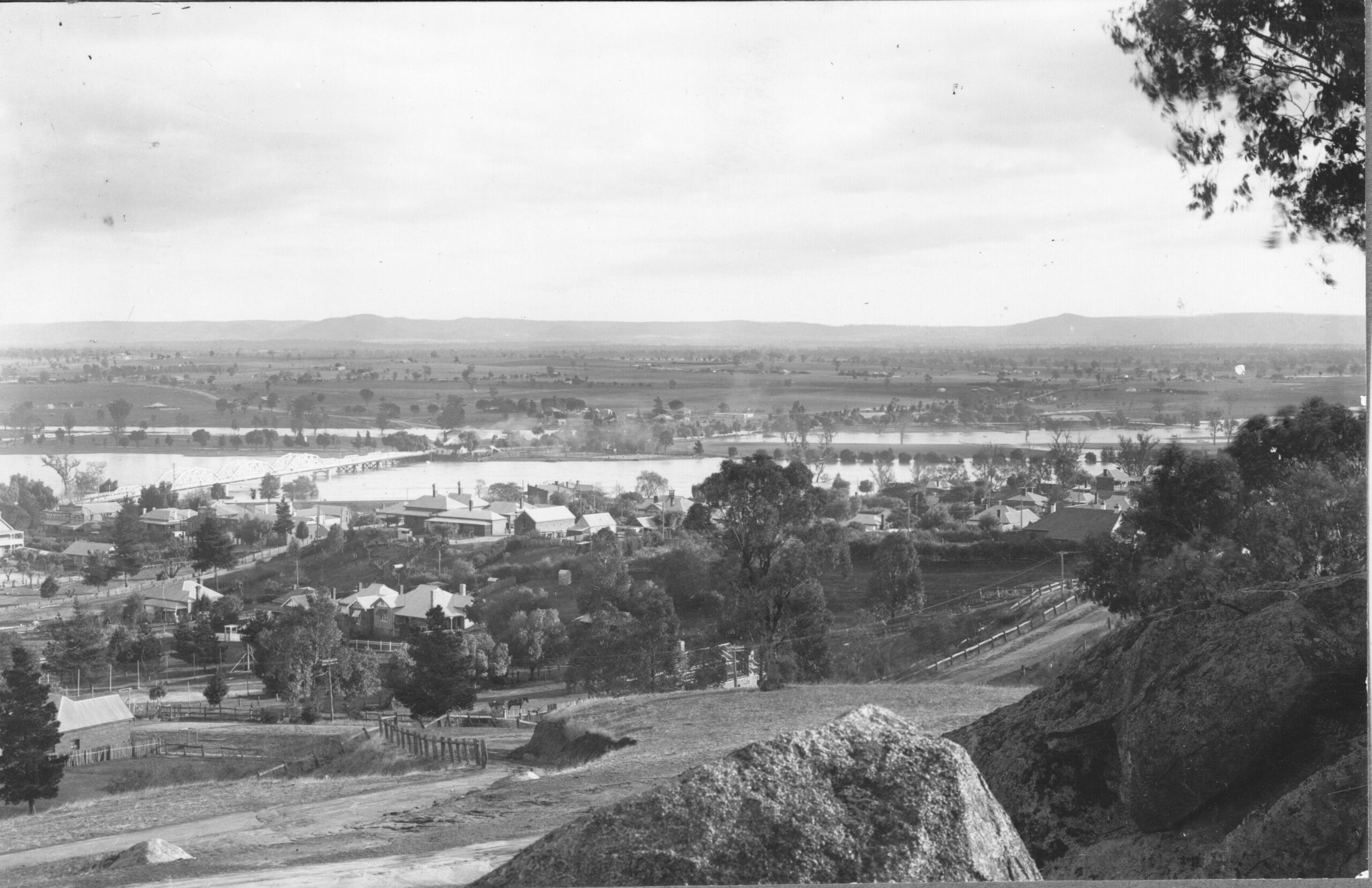 View from Bellevue Hill, Cowra 1925 2
