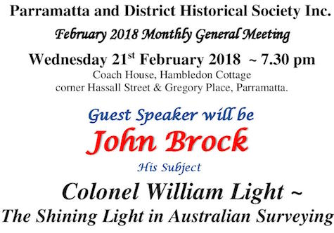 Parramatta and District Historical Society