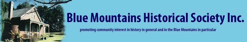 Blue Mountains Historical Society