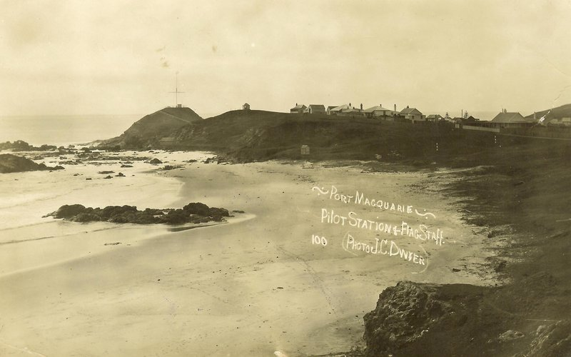 Port Macquarie Pilot Station and Flagstaff, 1930s