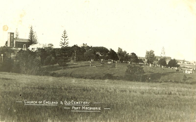 Port Macquarie's Historic Cemetery, the town's second burying ground, early 1900s