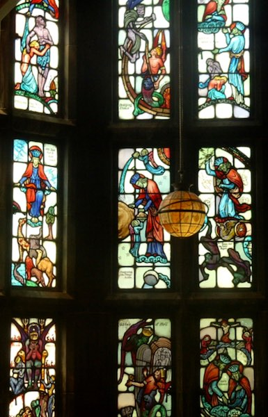 Milton in Stained Glass - Royal Australian Historical Society
