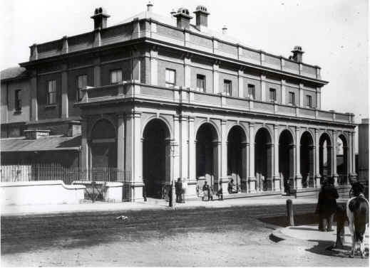 Supreme Court Building Sydney c.1900 [Image courtesy NSW State Archives]