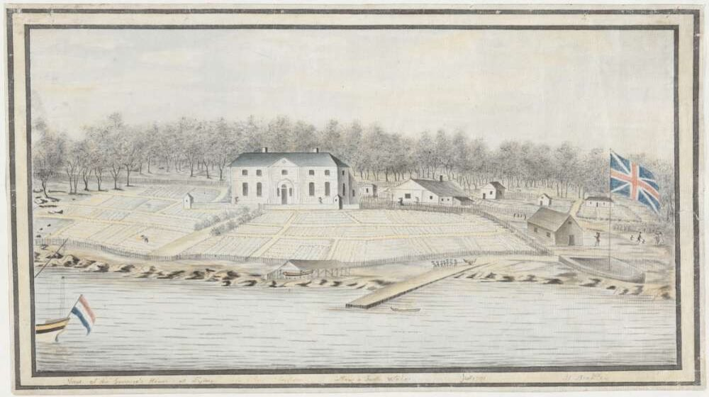 First Govt House Bradley 1791