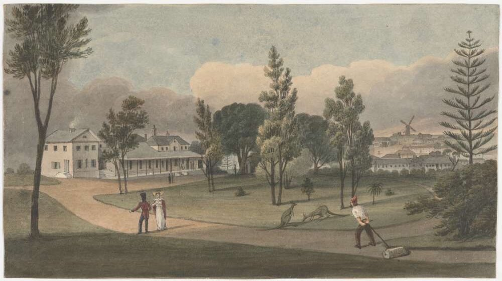 Govt House Earle 1828