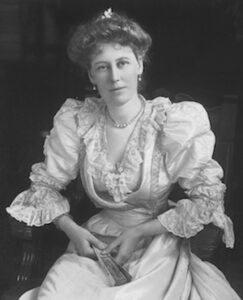 Frances, Lady Chelmsford, photograph by R. A. Ruddle. ca. 1905 [John Oxley Library, State Library of Queensland]