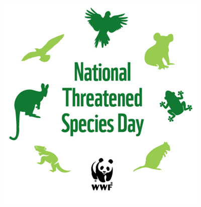 National Threatened Species Day logo